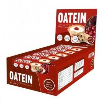 Oatein Flapjack ( Protein Bars ) - Box of 12 Cherry Bakewell