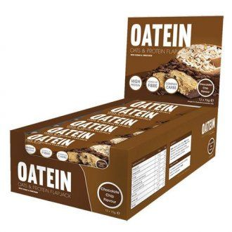 Oatein Flapjack ( Protein Bars ) - Box of 12 Chocolate Chip