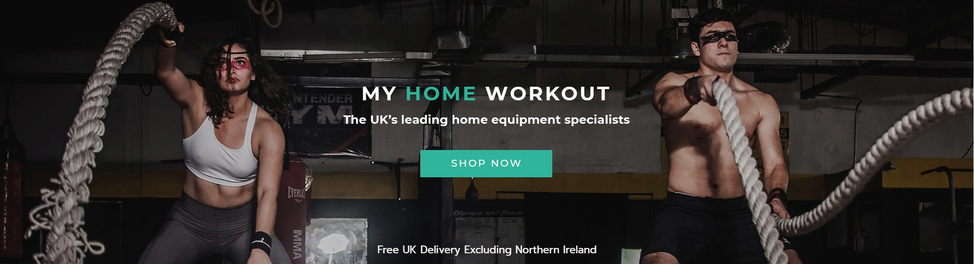 My Home Workout - the UK's home equipment specialist